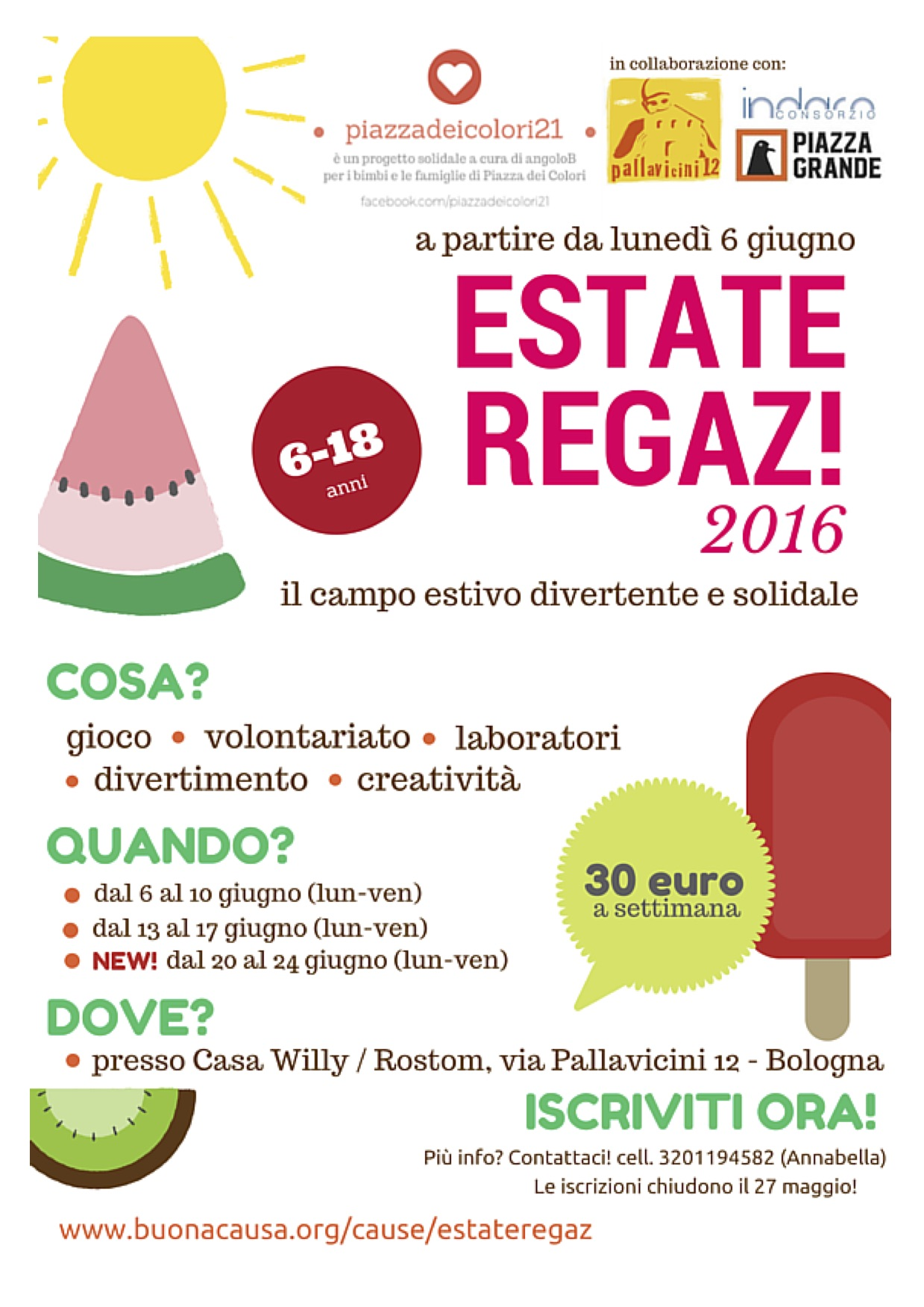 Estate Regaz volantino